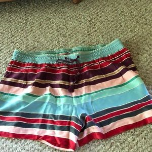 Colorful Loft shorts